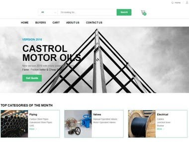 E-comerce site (VUE)