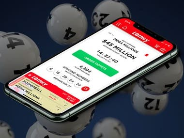 Lottery App - iPhone/Android