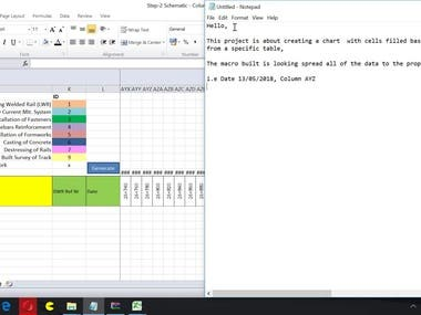 Vba-Creating a cell filled Chart based on a dataset