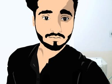 I will edit vector art of your picture