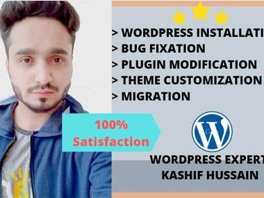 I will design customize speed optimize wordpress site