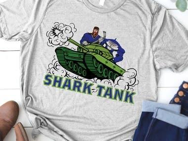 shark tank t shirt