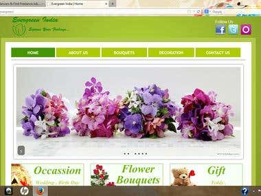 A online Flower Shop