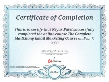 The Complete MailChimp Email Marketing