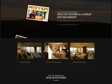 THEODOS Hotel Booking Website