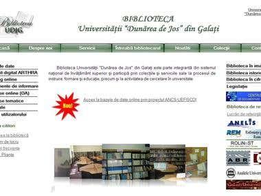 Library of Lower Danube University