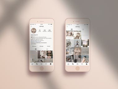 Social media content/graphic design