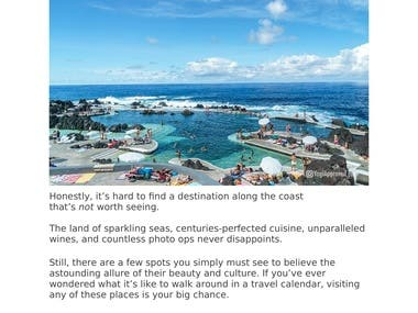 Travel Article