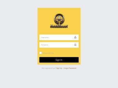 Website Development (MarksMan)