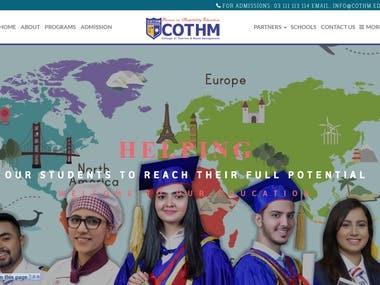 Website Development (Cothm)