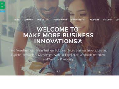 Website Development (Multi Level Marketing)