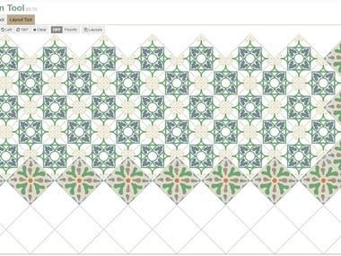 Tile design(Javascript)