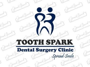 Tooth Spark Logo