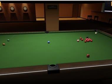 WebGL Snooker Simulator