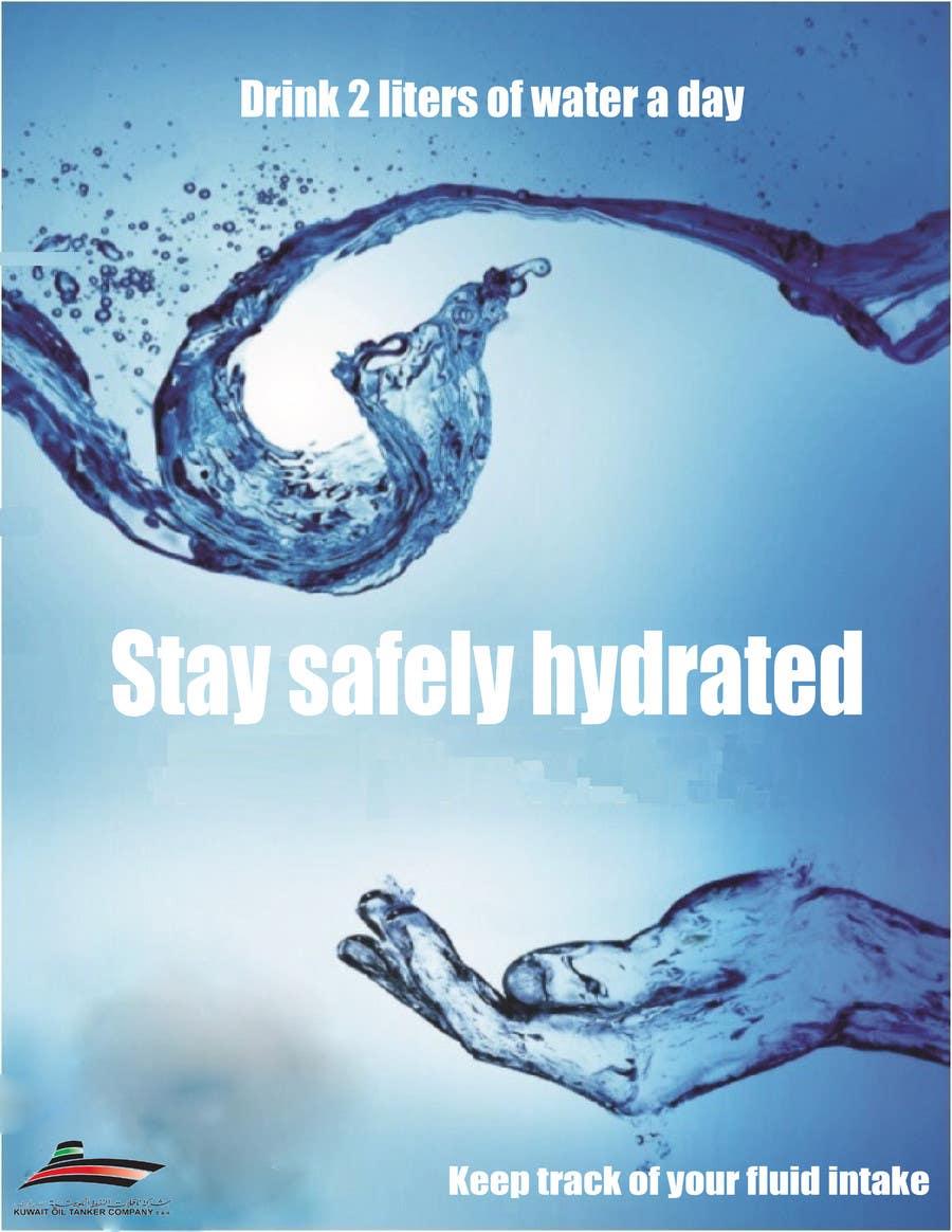 Proposition n°5 du concours Design an Advertisement of dehydration prevention