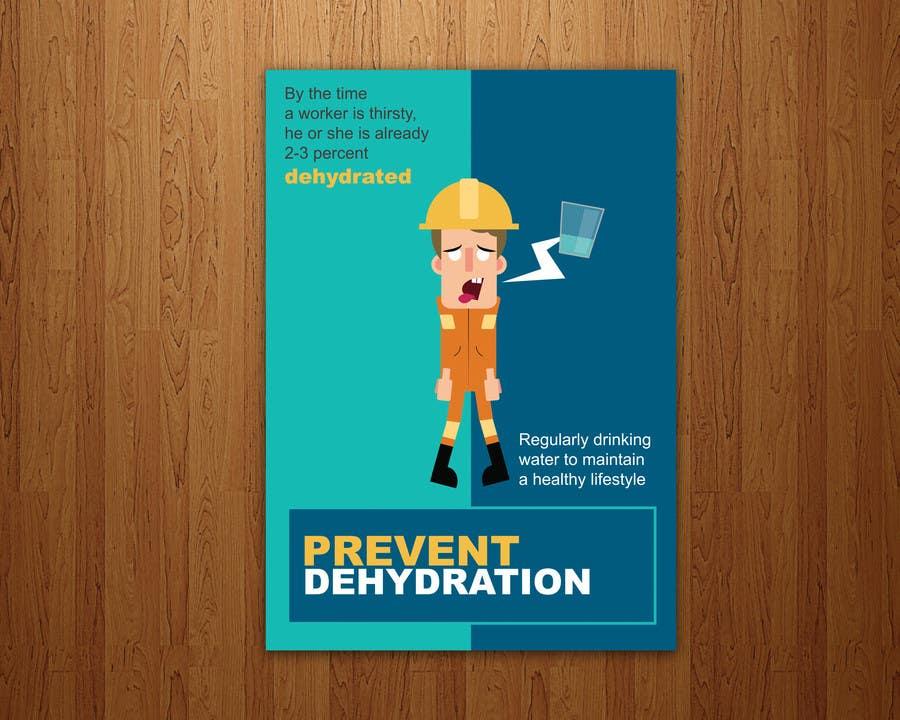 Proposition n°1 du concours Design an Advertisement of dehydration prevention