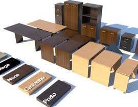 #11 for Diseñar un muebles de melamina y modelarlo de forma realista en 3D by carlosbejarano