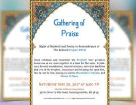 Nro 52 kilpailuun Design A Flyer for an Event käyttäjältä ahfahimm