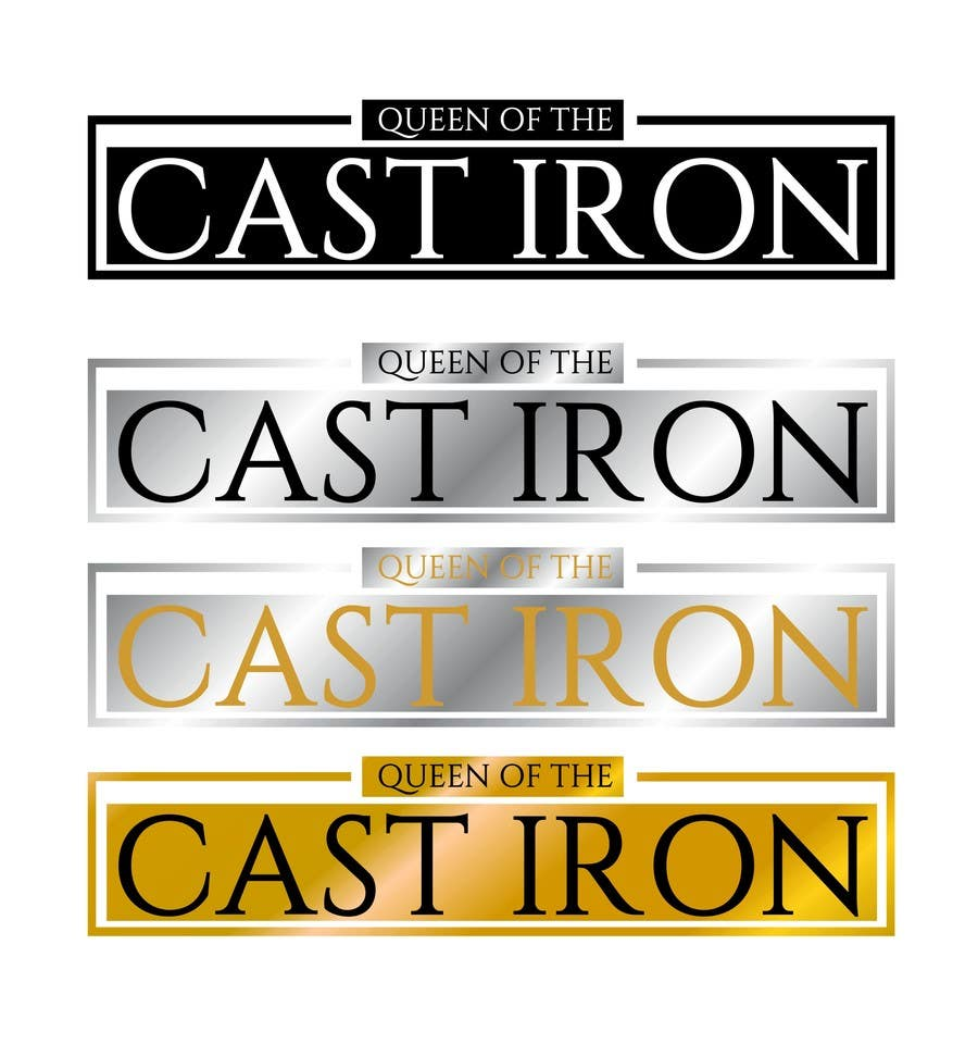 Proposition n°8 du concours Design a Logo for Queen of the Cast Iron