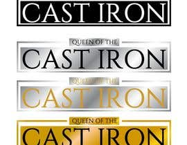 #8 for Design a Logo for Queen of the Cast Iron by desislavsl