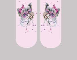 Nro 28 kilpailuun Need cool graphic design on socks. käyttäjältä NatachaHoskins