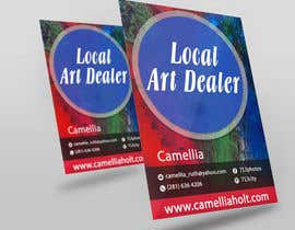 nº 3 pour Local Art Dealer Flyer par sajibup