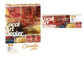 nº 8 pour Local Art Dealer Flyer par ivoarayanJ