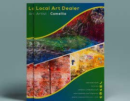 nº 10 pour Local Art Dealer Flyer par yeadul