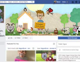 nº 20 pour VeganEvan Facebook Page Cover Photo Contest par MarufAbdullahBD