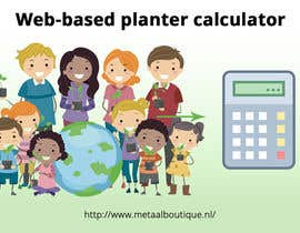 nº 6 pour Web-based planter calculator promotional image par SmPrime11