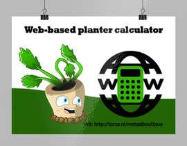 nº 5 pour Web-based planter calculator promotional image par alifakonjee