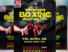 #25 for Design a Poster for a Boxing Event on April 28 by aminul1238