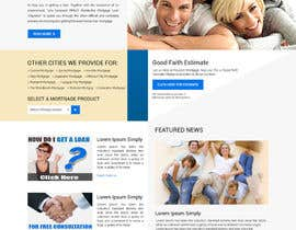 #9 for Design a Website Mockup - HOMEPAGE ONLY - Houston Mortgage by yasirmehmood490