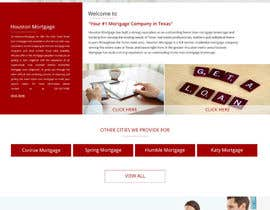 #5 for Design a Website Mockup - HOMEPAGE ONLY - Houston Mortgage by mazcrwe7