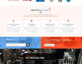 #30 for Design a Website Mockup - HOMEPAGE ONLY - Houston Mortgage by ByteZappers