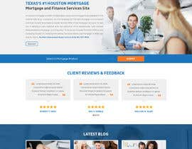 #17 for Design a Website Mockup - HOMEPAGE ONLY - Houston Mortgage by davidnalson