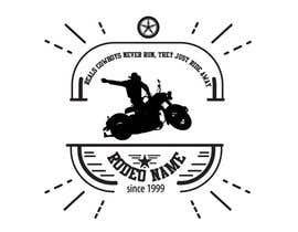 nº 1 pour Motorcycle Rodeo Logo par gbrielruizr