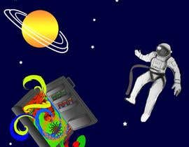 nº 3 pour Adobe illustrator - Astronaut flying away from Refrigerator with random things flying out par sonalfriends86