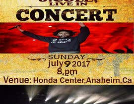 #6 for Design a one page concert tickets gift invite -#2 by adnanhabib9810