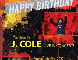 #5 for Design a one page concert tickets gift invite -#2 by webomagus