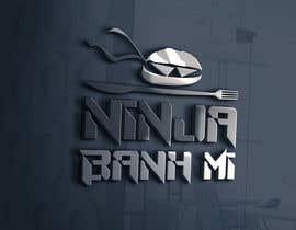 Nro 82 kilpailuun Design Banh Mi shop logo käyttäjältä FreakyDesigns