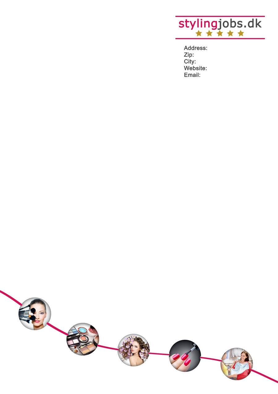 Proposition n°6 du concours A4 Letterhead Design
