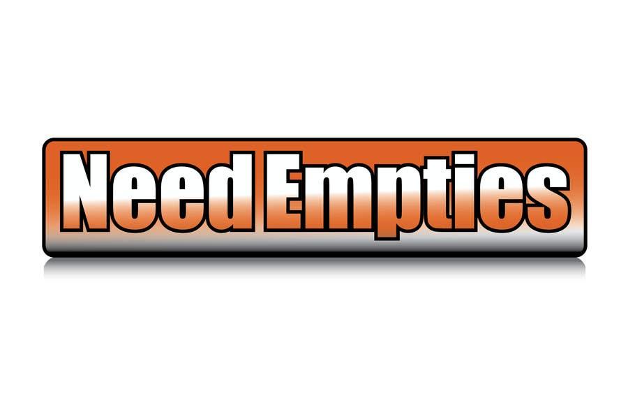 Inscrição nº                                         17                                      do Concurso para                                         Logo for Need Empties