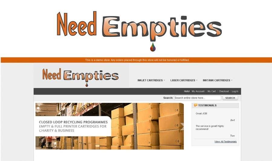Bài tham dự cuộc thi #                                        31                                      cho                                         Logo for Need Empties