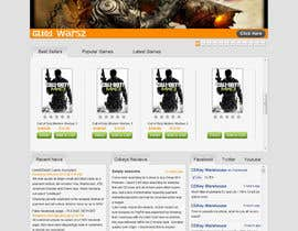 Nro 16 kilpailuun Website Design for CDKEY Warehouse for interspire shopping cart käyttäjältä kosmografic