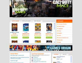 Nro 7 kilpailuun Website Design for CDKEY Warehouse for interspire shopping cart käyttäjältä tania06
