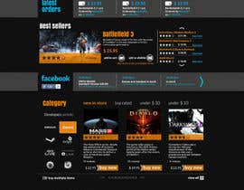 Nro 21 kilpailuun Website Design for CDKEY Warehouse for interspire shopping cart käyttäjältä hipnotyka
