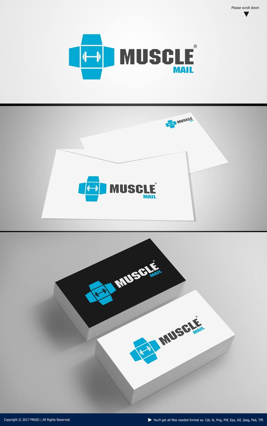 Proposition n°352 du concours Logo Design for MuscleMail - new UK fitness business