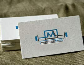 nº 136 pour Logo Design for MuscleMail - new UK fitness business par naharffk