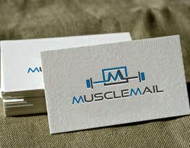 nº 139 pour Logo Design for MuscleMail - new UK fitness business par naharffk